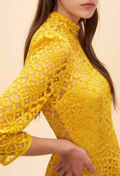 REJANE : Dresses color Yellow