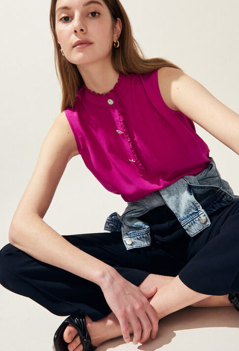 BABOUCHKA : Tops & chemises couleur Orchidee
