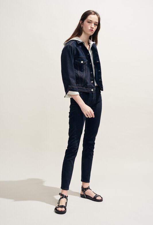 VINCE : Coats & Jackets color Jean