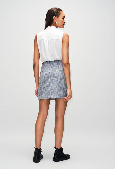 SEMILIAH19 : Skirts & Shorts color CHAMBRAY FONCE - SHIRTING