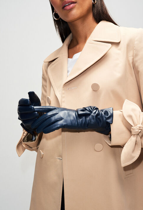 AMELIAH19 : Hats and Gloves color Navy