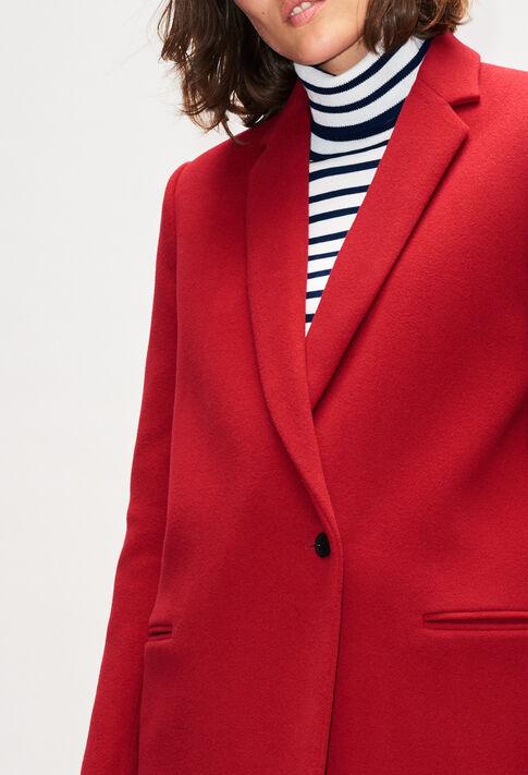 GOLDBISH19 : Manteaux et Blousons couleur CERISE
