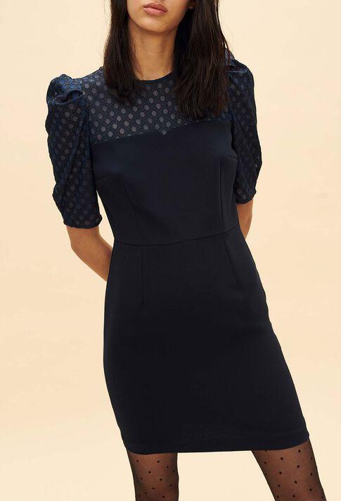 RESPECT : Dresses color Navy