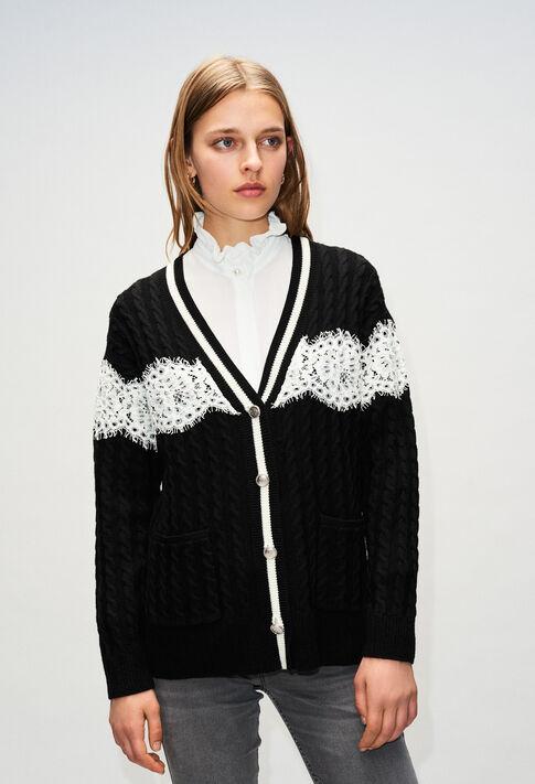 MIELH19 : Knitwear & Cardigans color BLACK