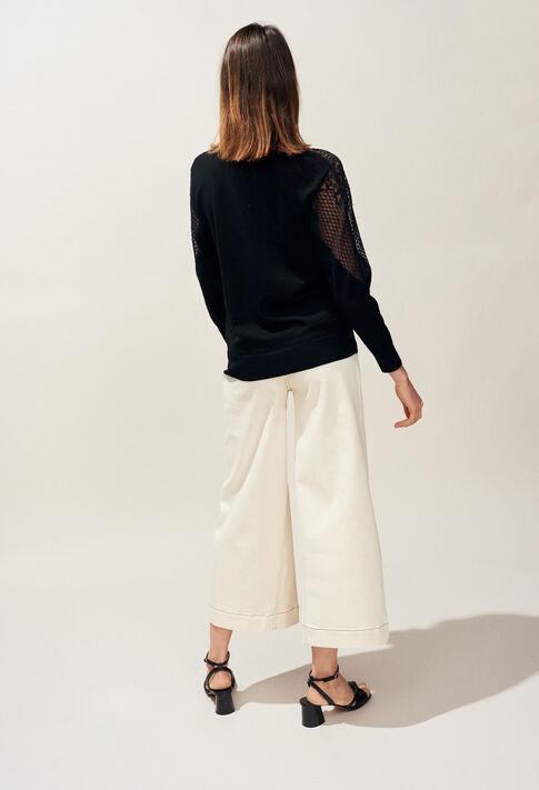 MANHATTAN : Maille & Sweatshirts couleur Noir