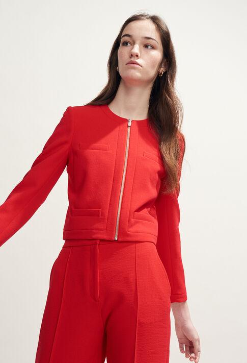 VILLE : Vestes couleur Ecarlate