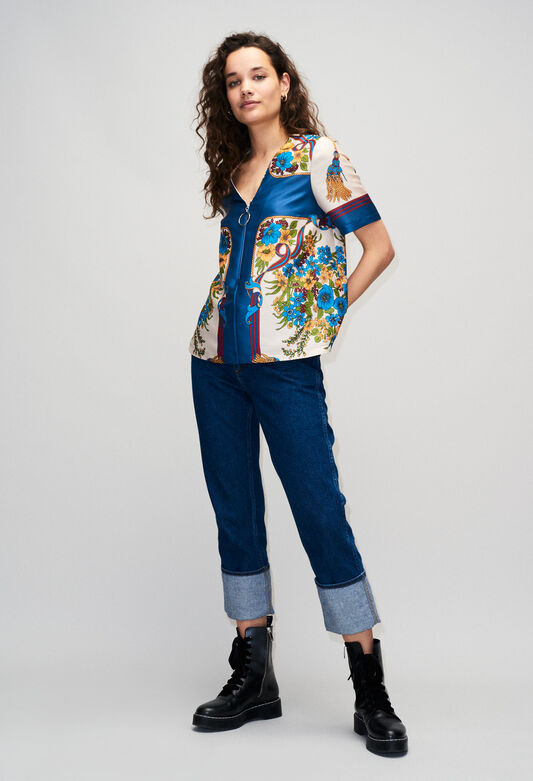 BINDOH19 : Tops & Shirts color MULTICO
