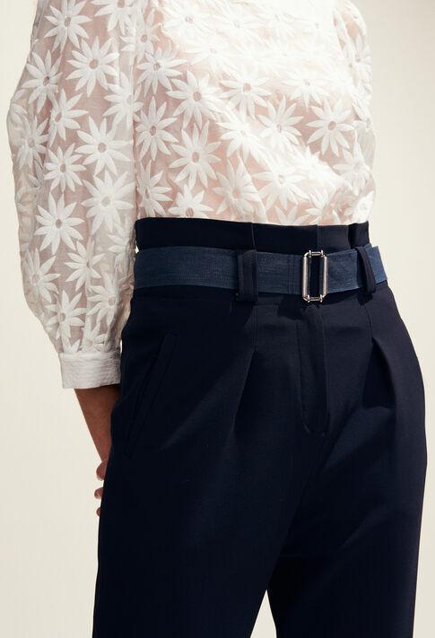 PABLOTA : Pantalons et Jeans couleur Marine