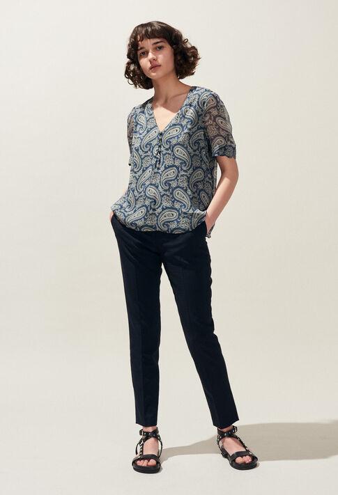 BALADIN : Tops et Chemises couleur MARINE