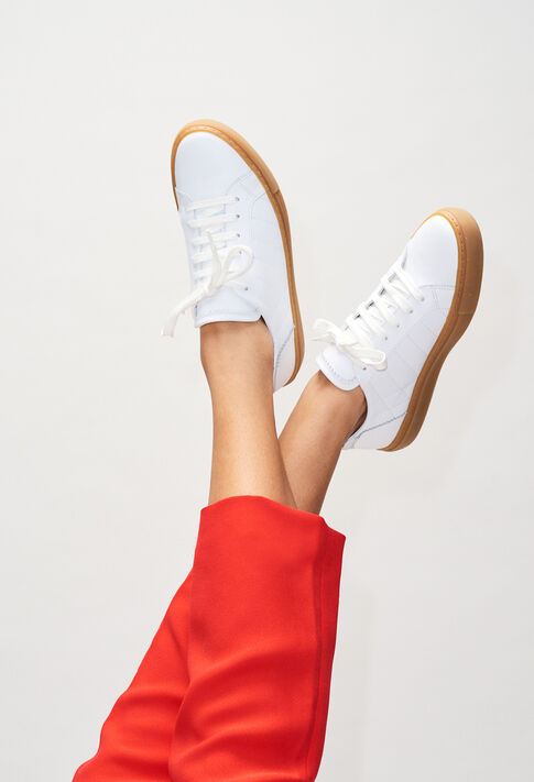 AVENIRH19 : Chaussures couleur BLANC
