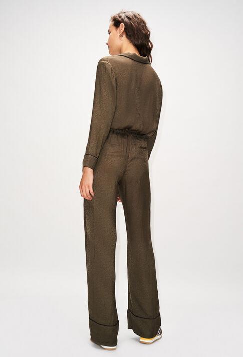 POLIDORH19 : Jeans & Pants color KAKI ARMY