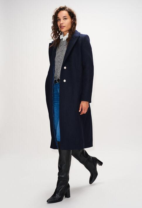 GENERALH19 : Manteaux et Blousons couleur MARINE
