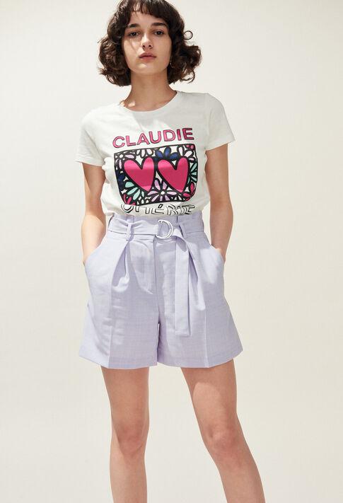 EDWARD : Skirts & Shorts color LILAS