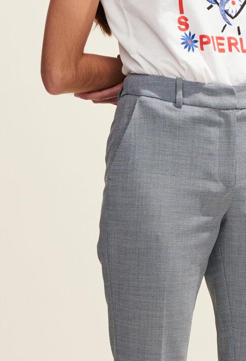 POPULAIRE : Pantalons et Jeans couleur Gris Chine
