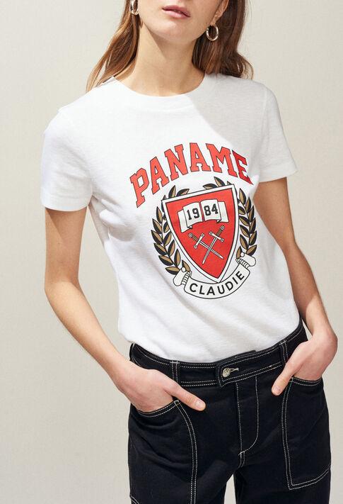 TAOSSA : T-shirts couleur Ecru