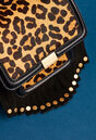 ANGELA SMALL STUD : Shoes & Accessories color Leopard