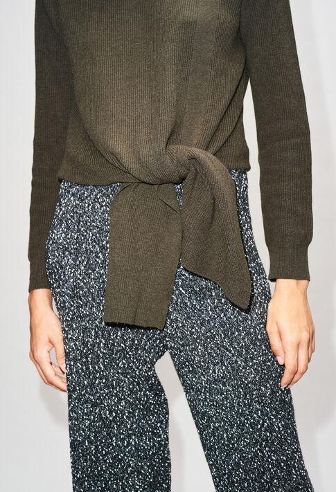 MATTH19 : Knitwear & Cardigans color KAKI ARMY