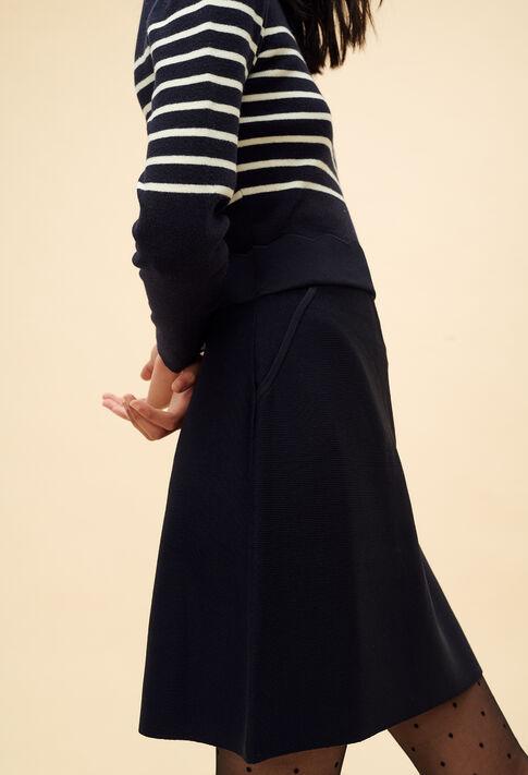 MAILLON : Dresses color Navy