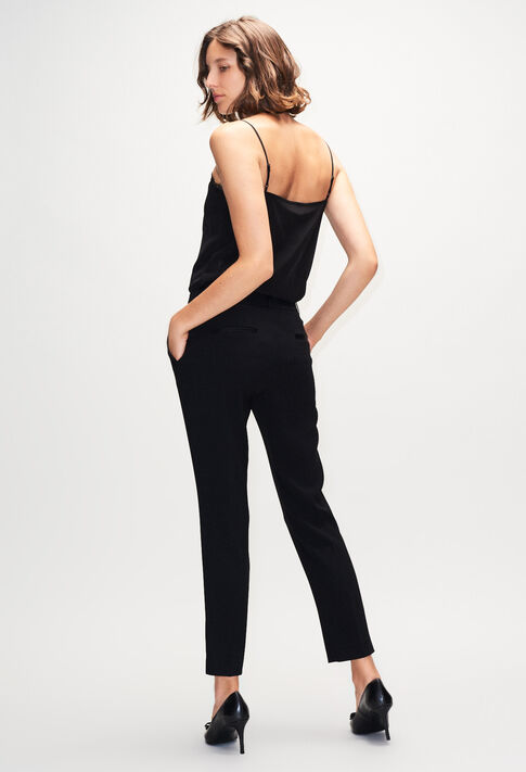 POULINH19 : Jeans & Pants color BLACK