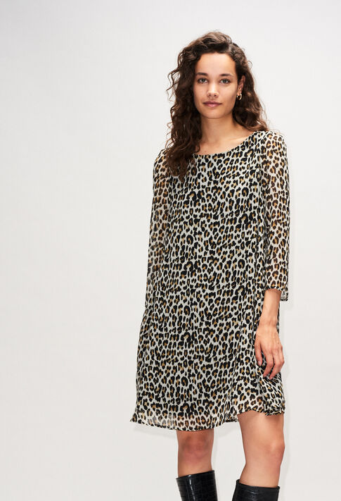 RIFIFILEOPARDH19 : Dresses color PRINT