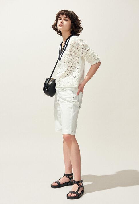 MAINATE : Knitwear & Cardigans color Ecru