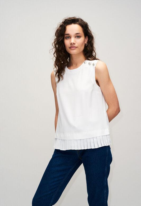 BIAGIOH19 : Tops & Shirts color ECRU