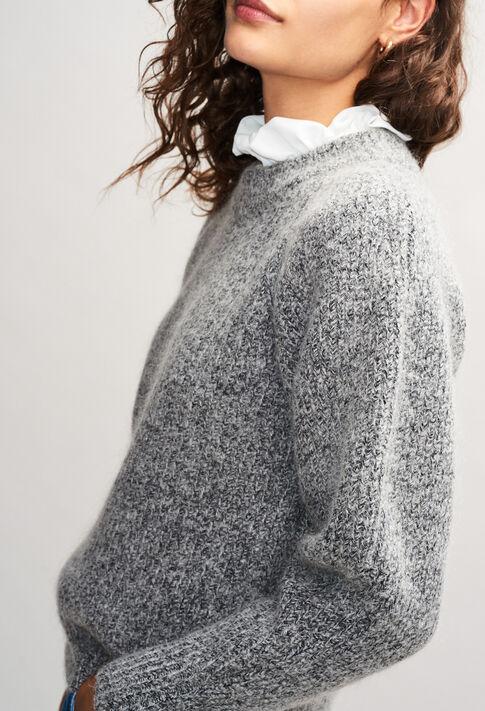 MATUREH19 : Knitwear & Cardigans color GRIS CHINE CLAIR