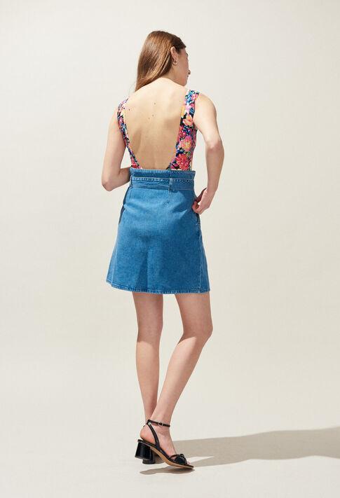 STELLE : Jupes et Shorts couleur JEAN