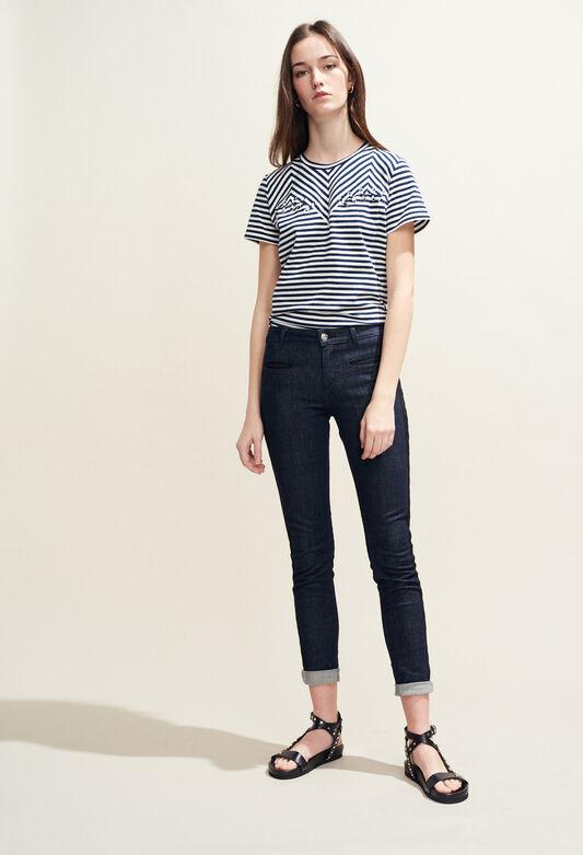PAOLINE : Pantalons et Jeans couleur JEAN