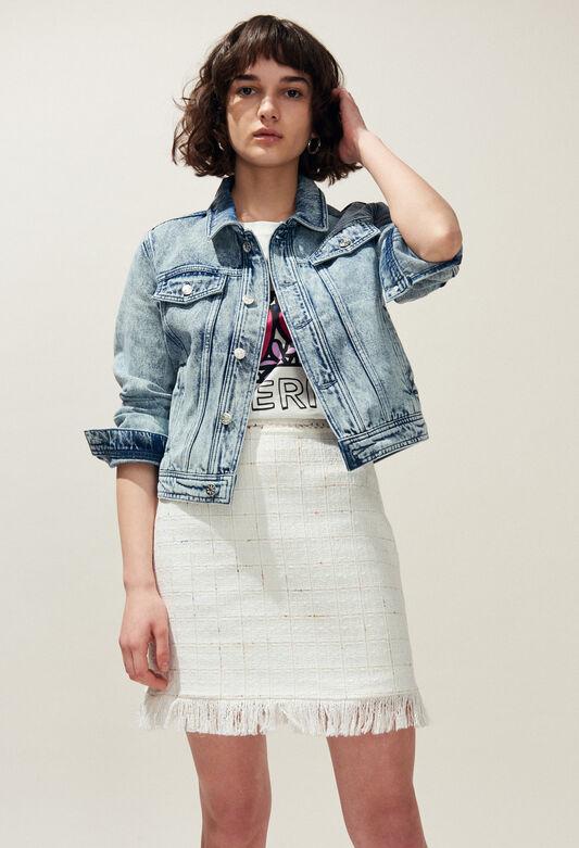 VANNA : Coats & Jackets color Jean