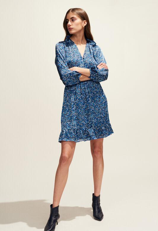 ROSANA : Dresses color BLEUET