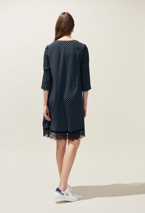 REAL POIS : Dresses color Navy