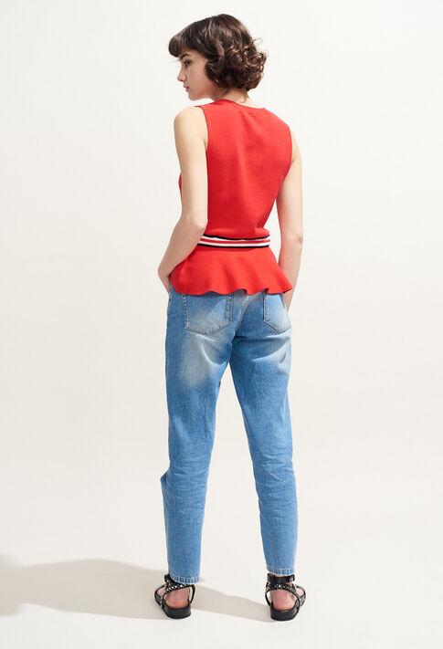 MARSA : Maille & Sweatshirts couleur Ecarlate