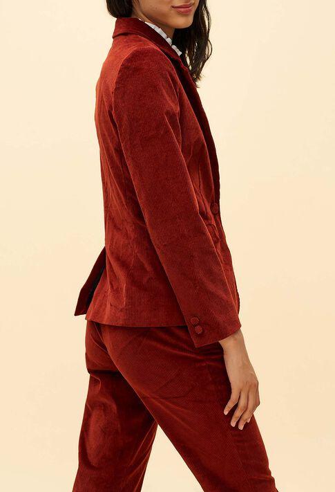 VITALIE : Coats & Jackets color ROUX