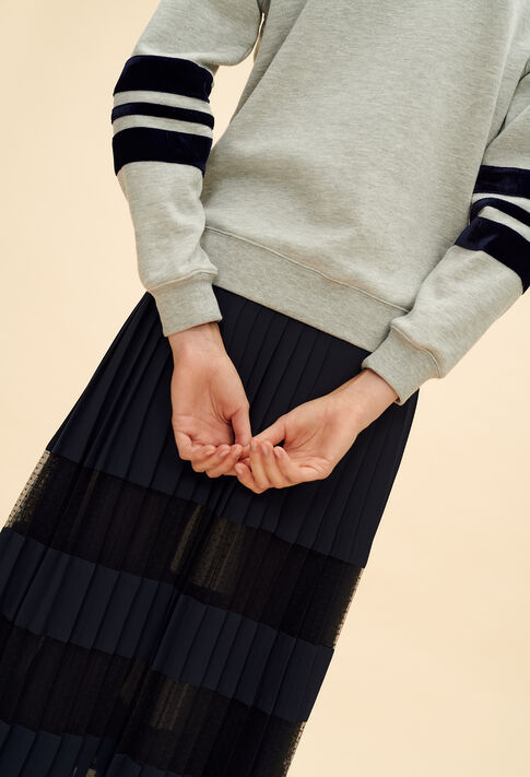 TADAH : Sweaters color Mottled Grey