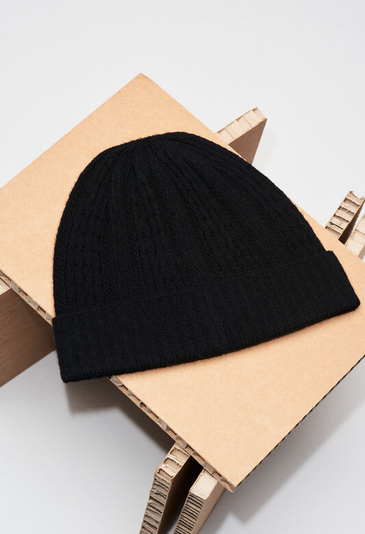 MODEMH19 : Hats and Gloves color BLACK