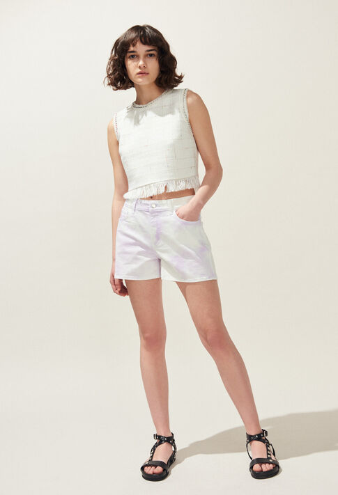 ELLIPSE : Skirts & Shorts color Lilas