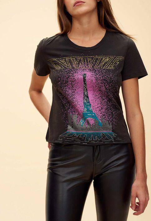 TOURELLE : Tops color Black