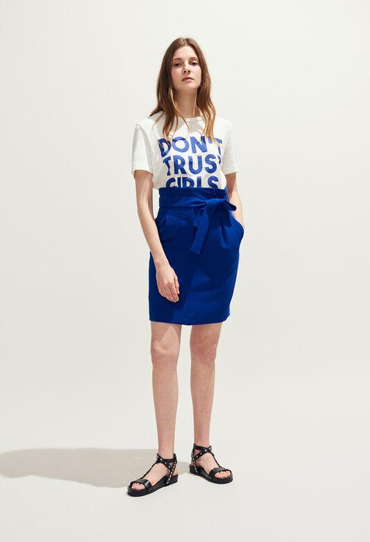 SOLEDAD : Skirts & Shorts color INDIGO