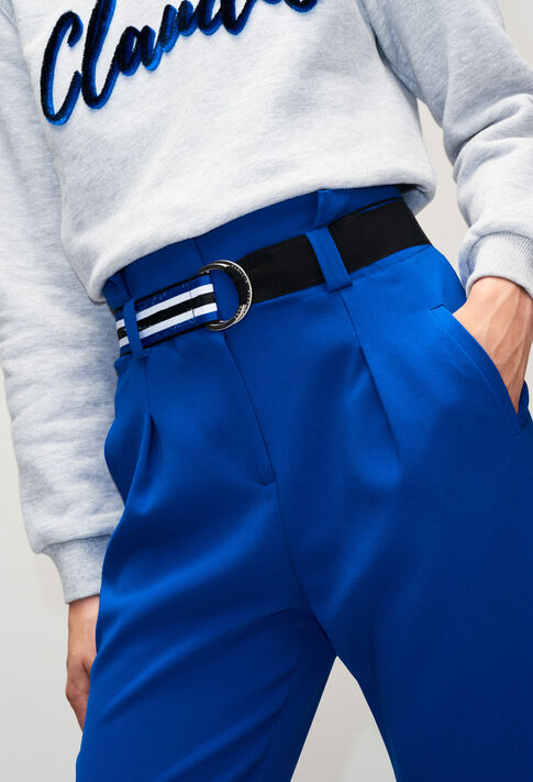 PAONH19 : Pantalons et Jeans couleur BLEU ROI