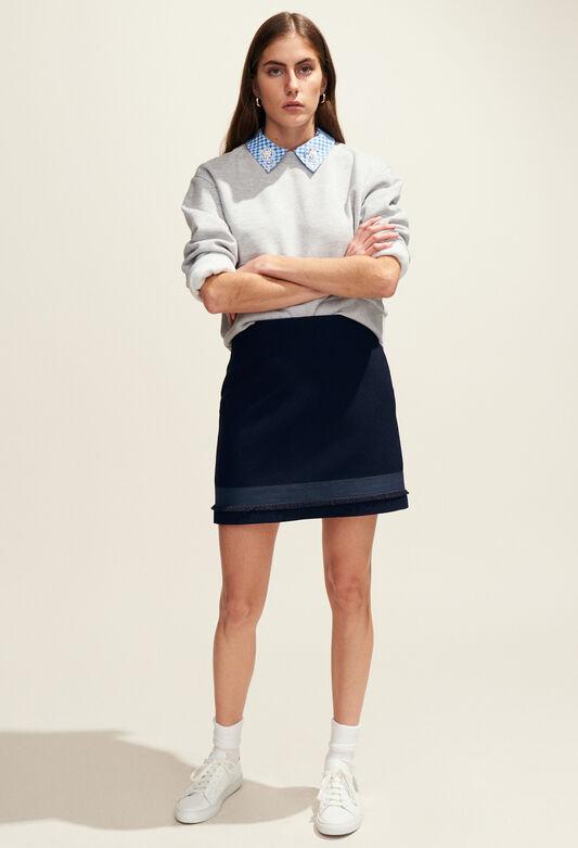 SAXO : Skirts & Shorts color Navy