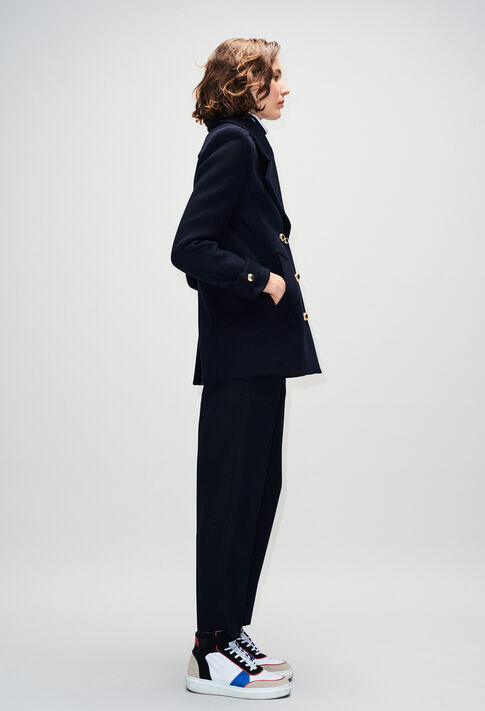 GILLOH19 : Manteaux et Blousons couleur MARINE