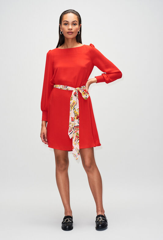 RAVAGEUSEH19 : Dresses color ROUGE