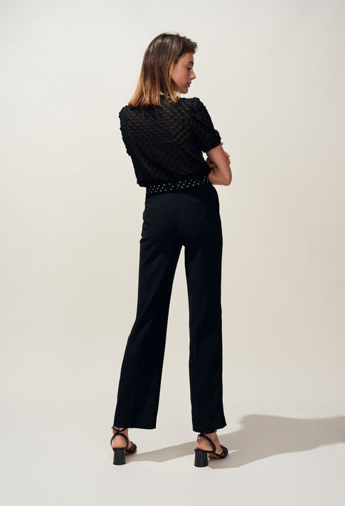 PHYBIE : Jeans & Pants color Black