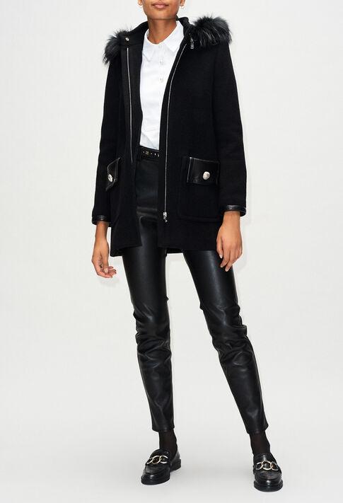 GRAFITIH19 : Coats & Jackets color BLACK