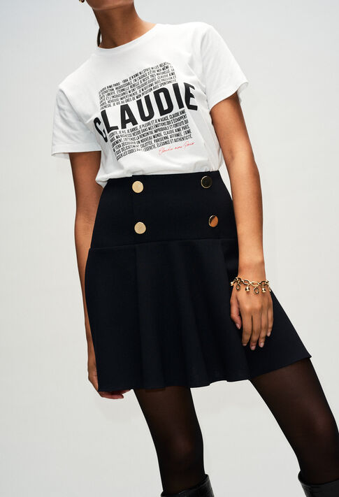 STACYH19 : Skirts & Shorts color BLACK