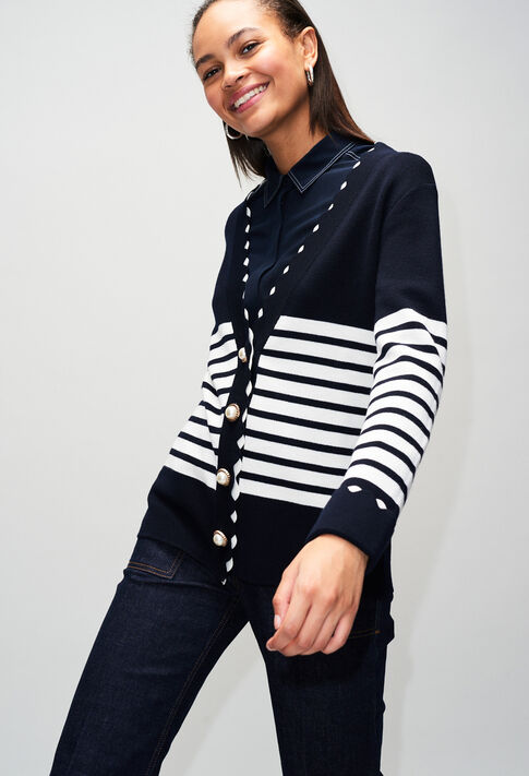 MINATAH19 : Knitwear & Cardigans color NAVY