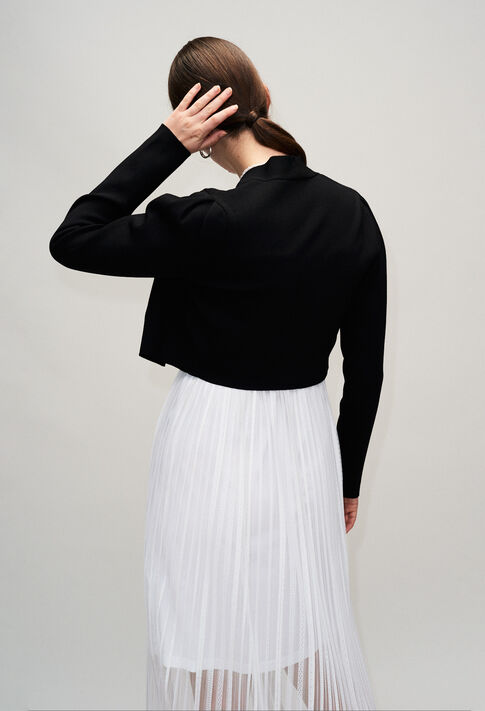 MALTAH19 : Maille & Sweatshirts couleur NOIR