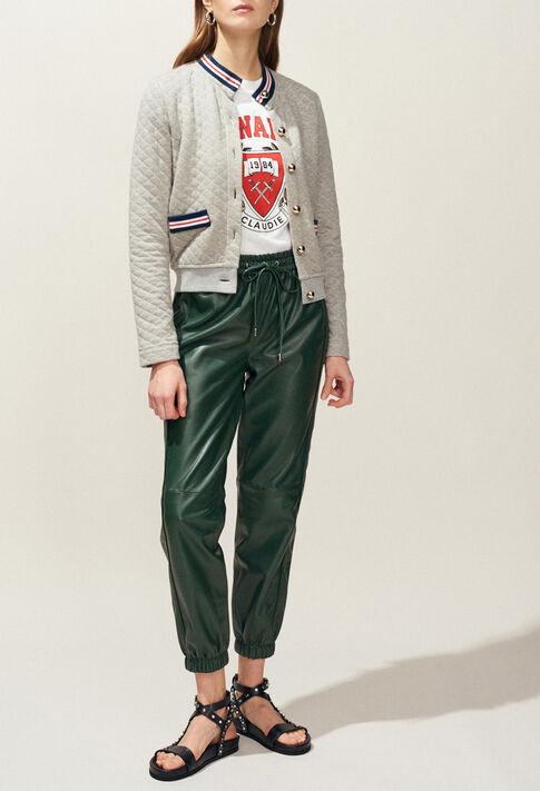 TREMPOLINE : Maille & Sweatshirts couleur Gris Chine