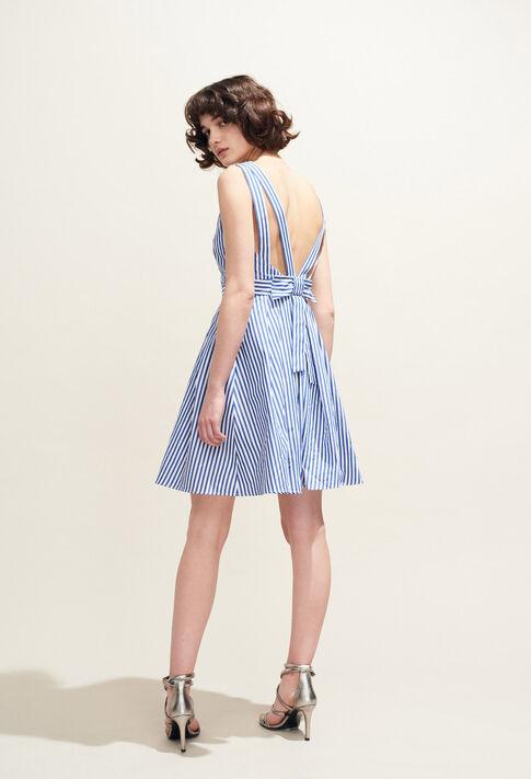 RENCONTRE RAYEE : Dresses color Indigo